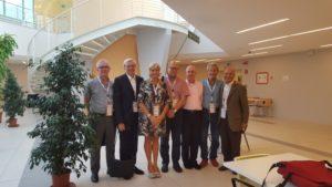 Gruppo Esperti ESSIC insieme alla Presidente AICI, Loredana Nasta